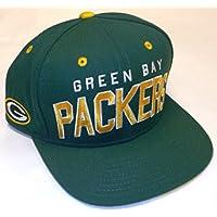 Green Bay Packers Flat Bill Snapback Reebok Hat - Osfa