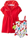 Wippette Baby-Girls infantil Mariquita traje & Cover Up, Cherry, 12Meses Color: Cereza Tamaño: 12Meses (Baby/Babe/Infant-Little Ones)