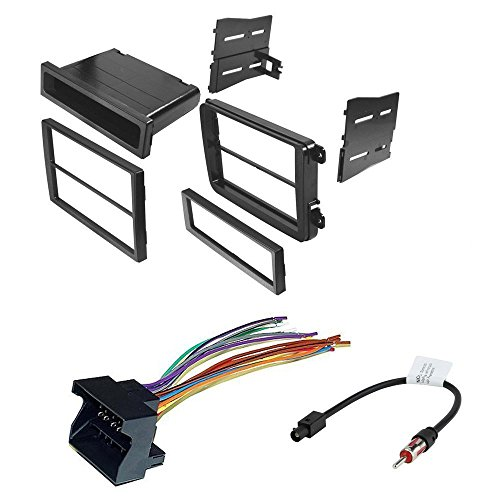 CAR RADIO STEREO CD PLAYER DASH INSTALL MOUNTING KIT HARNESS FOR VOLKSWAGEN 2005-2014