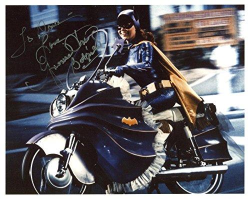 yvonne-craig-hand-signed-8x10-photo-coa-awesome-pose-as-batgirl-to-dav