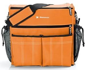 Bebemon Urban Xl - Bolso cambiador, color naranja