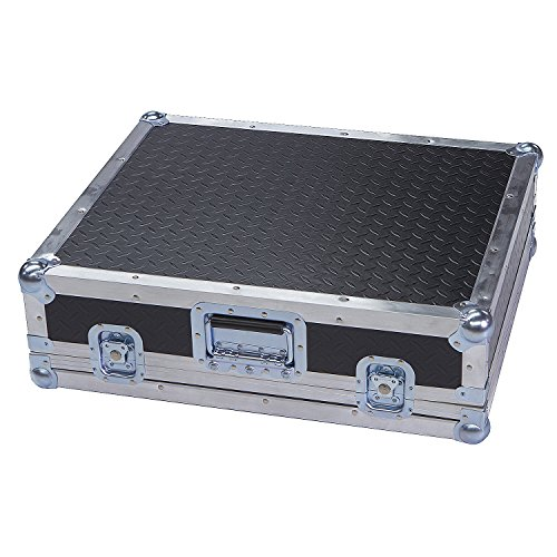Mixers & Small Units 1/4 Ply ATA Light Duty Case with Diamond Plate Laminate Fits Kustom Tuck N Roll Pa