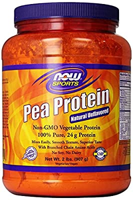 Now Foods Pea Protein, 6 Pounds Pack
