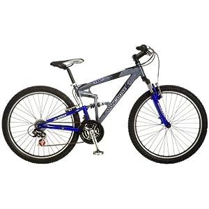 Mongoose Exile Dual-Suspension Mountain Bike