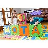 MOTA Alphabet ABC Floor Play Mat for Ages 2+ (Foam Puzzle Play Mat)