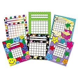 Individual Incentive Charts, 5-1/4 x 6, 6 Designs, 36/Each, 216/Pack, Sold as 1 Package, 216 Each per Package