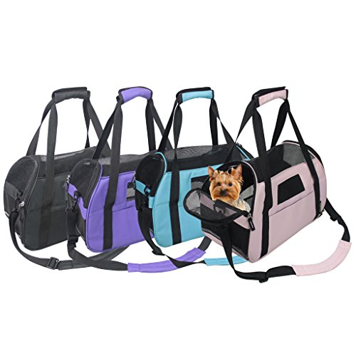 Jespet-Portable-Comfort-17-Inch-and-19-Inch-Soft-Sided-Pet-Carrier-Airline-Travel-CatDog-Small-Animals-Tote-Bag