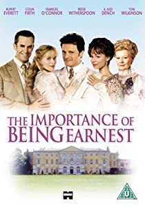 The Importance Of Being Earnest [VHS] [2002]