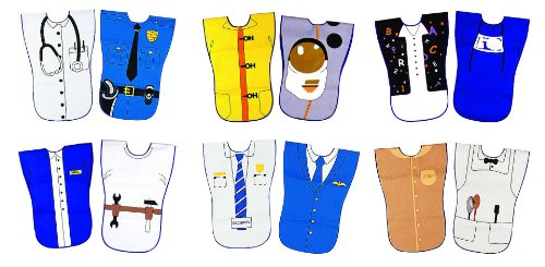 Childcraft Reversible Career Costume Vests - Pack of 6