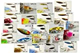 Akuna Pack of 14 Elite Spinnerbaits. Great Color Selections With Matching Silicone Skirts And Holographic Painted Blades