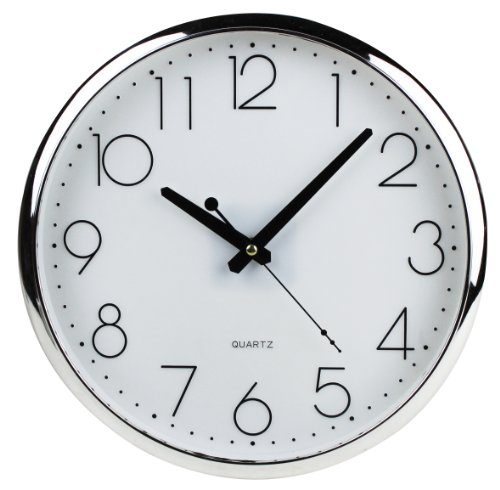 CLOCK / SILENT WALL CLOCK (LR6 Alkaline Battery SONY offered)
