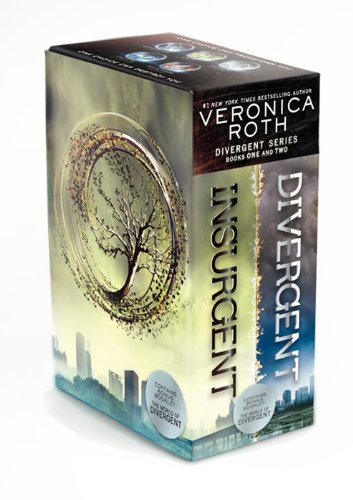 Veronica Roth Novels 'Divergent / Insurgent' Box Set
