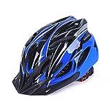 IFLYING Eco-Friendly Super Light Integrally Bike Helmet Adjustable Lightweight Mountain Road Bike Helmets for Men and Women (Blue)