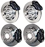 NEW WILWOOD COMPLETE FRONT & REAR DISC BRAKE KIT WITH LINES, FITTINGS, 12