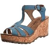 Fly London Gold, Women's Wedge Heel Sandals