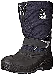 Kamik Kids Sleet Snow Boot, Navy, 12 M US Little Kid