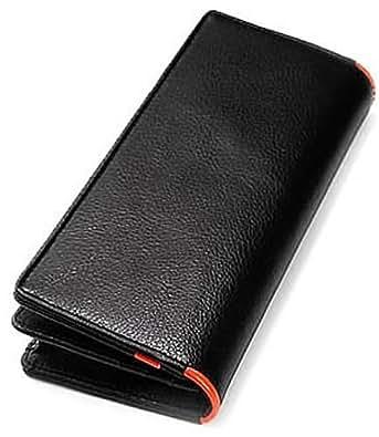 [ビームススクエア]BEAMZ SQUARE 財布 サフィアーノレザー長財布 メンズ BS-1507 オレンジ
