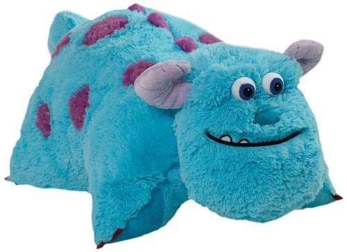 Pillow Pets 18-Inch Square Sulley Pillow