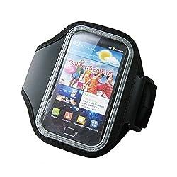Unique Gadget Black Sports Gym Armband for Samsung Galaxy S2 I9100 Galaxy S II Armband