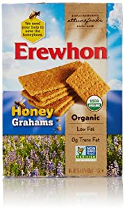 Erewhon Organic Honey Grahams, 14.4 Oz