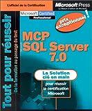 echange, troc Microsoft Press - MCP : Microsoft SQL Server 7.0 (spécial export)