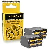 2x Batterie NP-F970 NPF970 pour Sony Camcorder Sony CCD-TR Series | CCD-TRV Series | Sony DCR-TR Series | Sony DCS-CD | Sony MVC-FD Series et bien plus encore...