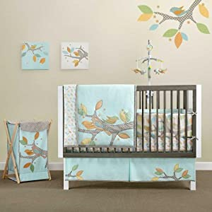 Bananafish Migi Little Tree 4 Piece Crib Bedding Set