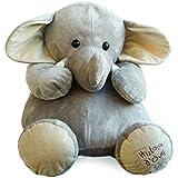Histoire d'ours HO1285 - Peluche serie Activité d'éveil, Elefante gigante
