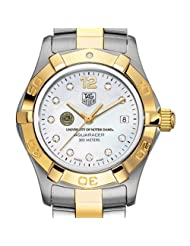 University of Notre Dame TAG Heuer Watch - Women's Two-Tone Aquaracer Watch