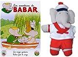 echange, troc Les Aventures de Babar : Les Anges gardiens / Babar fait le singe (inclus 1 peluche)