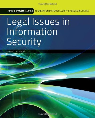 Legal Issues In Information Security (Information Systems...