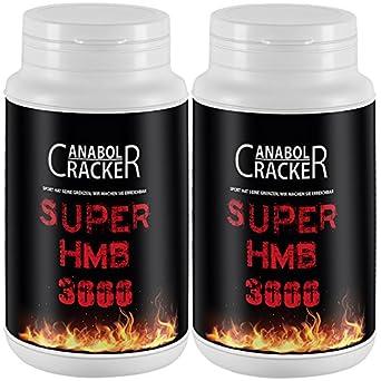 2X Super HMB 3000 mg, 210g Dose, Orangen Geschmack, Taurin Calcium Pulver