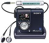 SONY Hi-MDウォークマン USB記録・再生対応 ブラック [MZ-DH10PB]