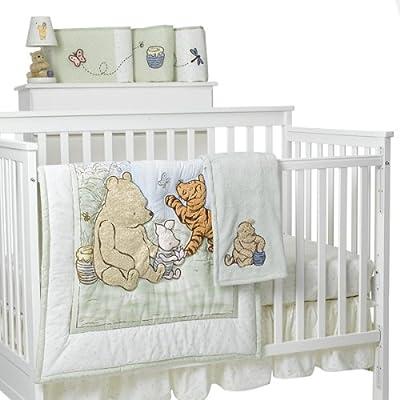 Classic Pooh Sage Bedding Babygaga