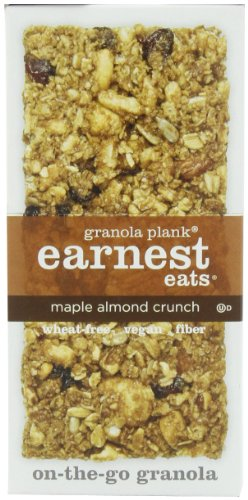Earnest Eats Granola Plank, Maple Almond Crunch, 3-Ounce Planks (Pack of 6)