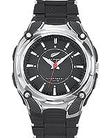 All Blacks - 680031 - Montre Homme - Quartz Analogique - Cadran Noir - Bracelet Plastique Noir