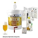 Geschenkbox Bier Brau Set Einsteigerset mit allen Zutaten für bis zu 20 Liter Bier