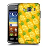 Head Case Designs Pina Pineapple Patterns Protective Snap-on Hard Back Case Cover for Samsung Galaxy Xcover S5690