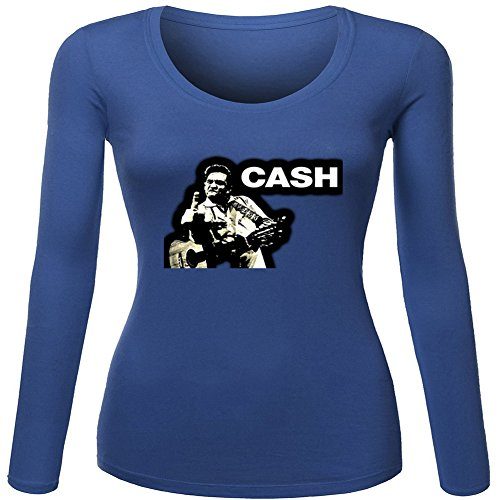 Johnny Cash Finger For Ladies Womens Long Sleeves Outlet