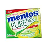Mentos Pure Fresh, Melon Lemon Flavour With Green Tea, Chewing Gum (Pack Of 2)
