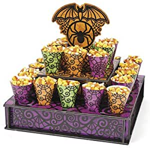 Or Treat Stand With Cones - Halloween Party Supplies & Decorations ...