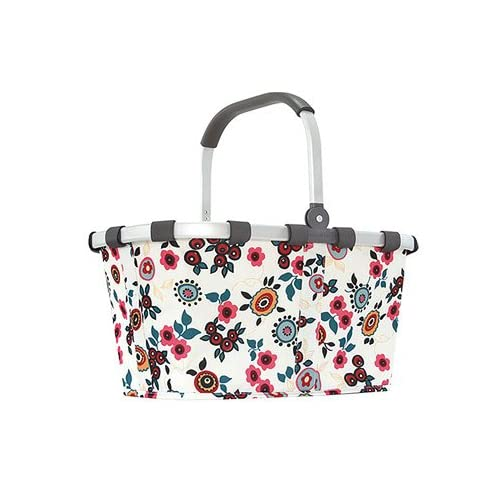 reisenthel CARRY BAG 《Print Pattern》 ライゼンタール キャリーバッグ[ BERRY OFF WHITE ]