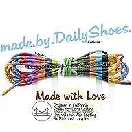 DailyShoes Round Waxed Shoelaces Oxfo…