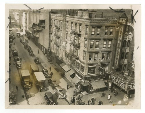 Arthur Fried - Crime Scene - Original Vintage Press Photo, 1928