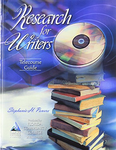 Research for Writers Telecourse Guide