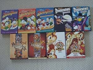 Ducktales Volumes 1 2 3 Darkwing Duck Volume 1 2 Tailspin Volume 1&2 Chip&Dale Rescue Rangers Volume 1&2