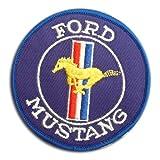 Ford MUSTANG フォード・マスタング / ロゴ マーク ・ アイロン ワッペン パッチ