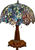 Wisteria Design HIGH DETAIL Tiffany Style Table Lamp