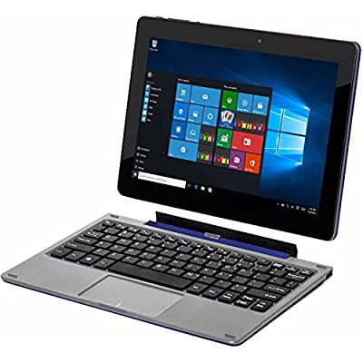 """Nextbook Flexx 9 Touchscreen 8.9"""" Intel Quad Core 2-in-1 Tablet 32GB with Detachable Keyboard Windows 10 - Blue"""