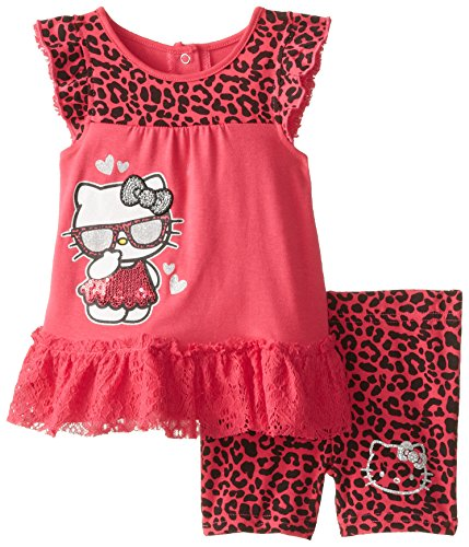 Hello Kitty Baby-Girls Infant Fashionable 2 Piece Bike Set
